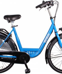 ID Personal 26 Inch 50 cm Dames 7V Rollerbrakes Blauw