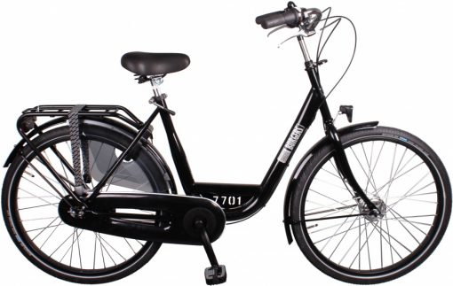 ID Personal 26 Inch 50 cm Dames 7V Rollerbrakes Zwart